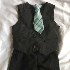 Baby Vest with Dress Pants and Tie